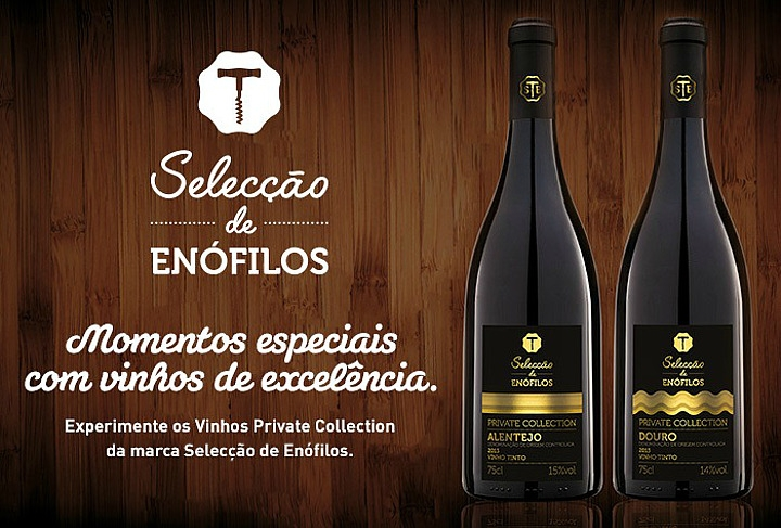 Vinhos Selecção de Enófilos - gama Private Collection